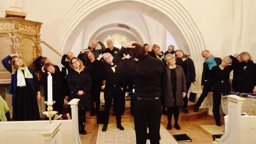 Hoved opvarmning - Sdr Broby Kirke koncert 2019